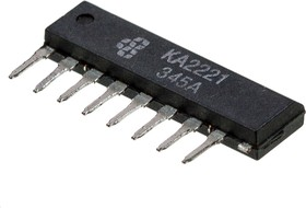 KA2221, Двухканальный малошумящий предварительный усилитель