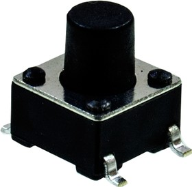 L-KLS7-TS6604-7.0-180-T, кнопка тактовая SMD h=7.0мм (аналог IT-1102WB8)