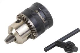 Патрон ключ. Hammer Flex 208-104 CH-1 1/2''-20UNF 1,5-13мм + переходник SDS+