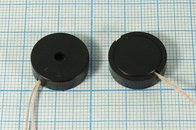 Излучатель звука пьезокерамический без генератора 17x5мм, с гибкими выводами, зп 17x 5\1~20\\ 5,0\2L90\ЗП-31\