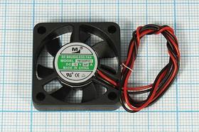 Фото 1/3 Вентилятор постоянного тока 12 Вольт, 30x30x7мм, шариковый подшипник, 10000об/мин, ВН310B вент 30x30x 7\ 12В\0,07А\2L\ ШП\YM1203PVC1