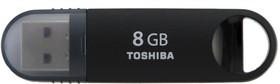 Флешка USB TOSHIBA Suzaku U361 8Гб, USB3.0, черный [thn-u361k0080m4]