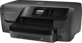 Принтер HP Officejet Pro 8210, струйный, цвет: черный [d9l63a]