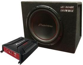 Сабвуфер автомобильный PIONEER GXT-3604BR, пассивный, 1300Вт