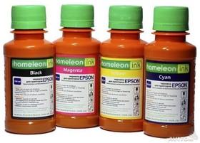 Чернила Revcol 8100, hameleon HP8600, Cyan, Dye, 100 мл. (128147)