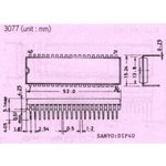 Фото 8/9 PIC16F887-I/P, Микроконтроллер 8-Бит, PIC, 20МГц, 14КБ (8Кx14) Flash, 36 I/O [DIP-40]