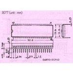 Фото 7/7 ATmega16-16PU, Микроконтроллер 8-Бит, AVR, 16МГц, 16КБ Flash [DIP-40]
