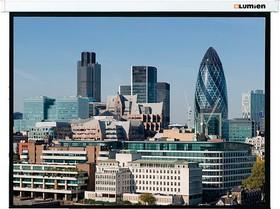 Экран LUMIEN Master Control LMC-100113, 220х184 см, 16:9, настенно-потолочный