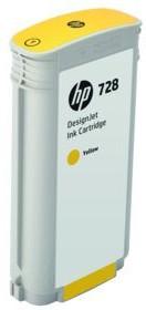 Картридж HP 728 желтый [f9j65a]