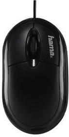 Мышь HAMA AM-8300 оптическая проводная USB, черный [00134951]
