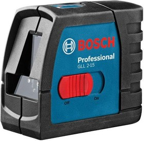 GLL 2-15 Prof. + BM 3, Простой компактный лазерный нивелир, с держателем BM3 в кейсе Koffer