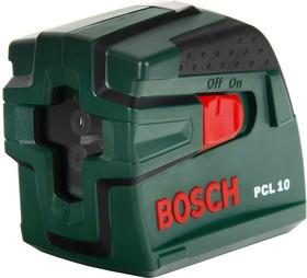 PCL 10 SET, Лазерный нивелир с перекрестными лучами со штативом