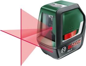 PLL 2 , Лазерный нивелир с дисплеем (горизонталь, вертикаль, лазерный крест). Угол наклона проекции отобража