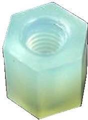 KLS8-0215 M3-06 (HTP-306), Стойка пластмассовая для печатных плат 6мм