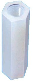 Фото 1/4 KLS8-0215 M3-20 (HTP-320), Стойка пластмассовая для печатных плат 20мм