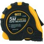 Рулетка FIT 17245 желто-черный прорезиненный корпус ...