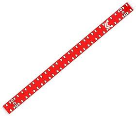 Фото 1/2 Печатная плата Neopixel stick 16, Печатная плата с разводкой, FR4 7.5х117.7мм (1.5мм, 18мкм)