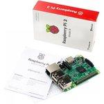 Фото 9/9 Raspberry Pi 3 Model B, Одноплатный компьютер на базе процессора Broadcom BCM2837 с Wi-Fi и Bluetooth
