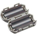 Фото 3/8 ZCAT1730-0730A, d=4...7 мм, Фильтр на круглый кабель (серый)