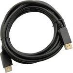 Кабель 1.2v DisplayPort (m) DisplayPort (m) 5м черный