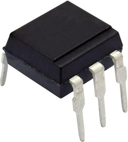 CNY17-1., Optocoupler DC-IN 1-CH Transistor With Base DC-OUT 6-Pin PDIP