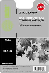 Картридж CACTUS CS-PGI2400XLBK черный