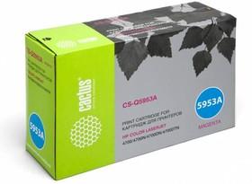 Картридж CACTUS CS-Q5953AR пурпурный