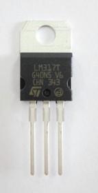 Фото 1/4 LM317T, Стабилизатор напряжения регулируемый, Uвых=1.2В…37В, 1.5А [TO-220]