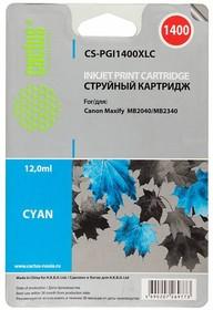 Картридж CACTUS CS-PGI1400XLC синий