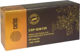 Картридж CACTUS CSP-Q2613X PREMIUM, черный