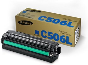 Картридж SAMSUNG CLT-C506L/SEE голубой