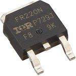 Фото 6/6 IRFR220NPBF, Транзистор, N-канал 200В 5.0А [D-PAK]