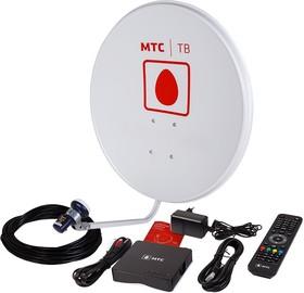 Фото 1/3 35-0105, Комплект спутникового ТВ от МТС, ТВ-приставка, 1 год «Базовый ULTRA HD» (модель № 171)
