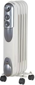 ОМПТ-5Н, Масляный радиатор, мощность 1кВт, 290×140×650, 5 секций овальной формы, на роликах.