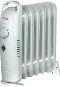 ОММ-7Н, Масляный радиатор, мощность 0,7кВт, 370×130×430, 7 секций, на ножках