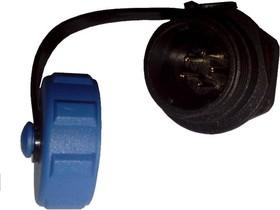 OL1312P-5, Разъем герметичный 5pin вилка на блок