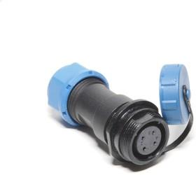 OL1711/S4, Разъем герметичный 4pin розетка на кабель