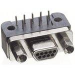 Фото 2/2 MWDM2L-15PCBRP-.110, Разъем Micro D Sub, 15 контакт(-ов), Штекер, MWDM-CBR Series, Сквозное Отверстие, Монтаж в Панель