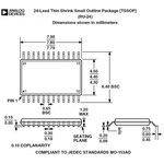 Фото 4/7 PCA9555PW,118, 16-битный расширитель цифровых входов/выходов для шины I2C [SOT-355]