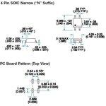 Фото 7/7 SFH6156-2T, Оптопара транзисторная 125% [SMD-4]