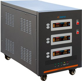 Фото 1/9 Стабилизатор напряжения трехфазный Энергия Hybrid 25000 II поколения