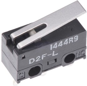 Фото 1/2 D2FL, Микропереключатель N.O./N.C. SPDT 3A 125VAC 30VDC