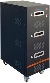 Фото 1/9 Стабилизатор напряжения трехфазный Энергия Hybrid 100000 II поколение
