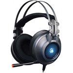 Наушники с микрофоном A4 Bloody G525 серый 2м мониторные ...