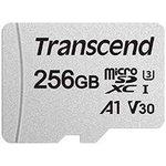 Фото 2/2 TS256GUSD300S-A, Флеш-накопитель Transcend Карта памяти Transcend 256GB UHS-I U3A1 microSD with Adapter