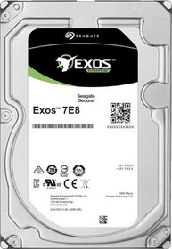 "Фото 1/3 Жесткий диск Seagate Original SAS 3.0 8Tb ST8000NM001A Exos 512E (7200rpm) 256Mb 3.5"""