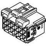 Фото 3/3 1-967625-1, Timer Connectors, 21 контакт, шаг 5мм, коричневый, Корпус разъема Universal MATE-N-LOK гнездо, 12 pin 6.35 мм