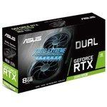 Фото 6/6 Видеокарта Asus PCI-E DUAL-RTX2080S-8G-EVO-V2 nVidia GeForce RTX 2080SUPER 8192Mb 256bit GDDR6 1815/15500/ HDMIx1/DPx3/HDCP Ret
