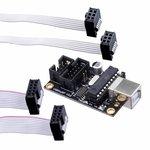 DF-DFR0116, Модуль программатор, ISP, USB B,штыревой