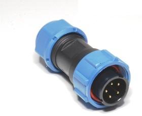 OL1710P-5-I, Разъем герметичный 5pin вилка на кабель